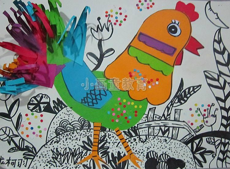 """东丽区举办""""我眼中的春节""""儿童美术绘画比赛图片"""